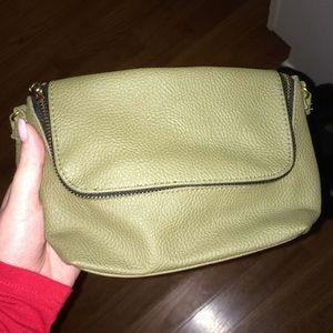 Mini olive green purse